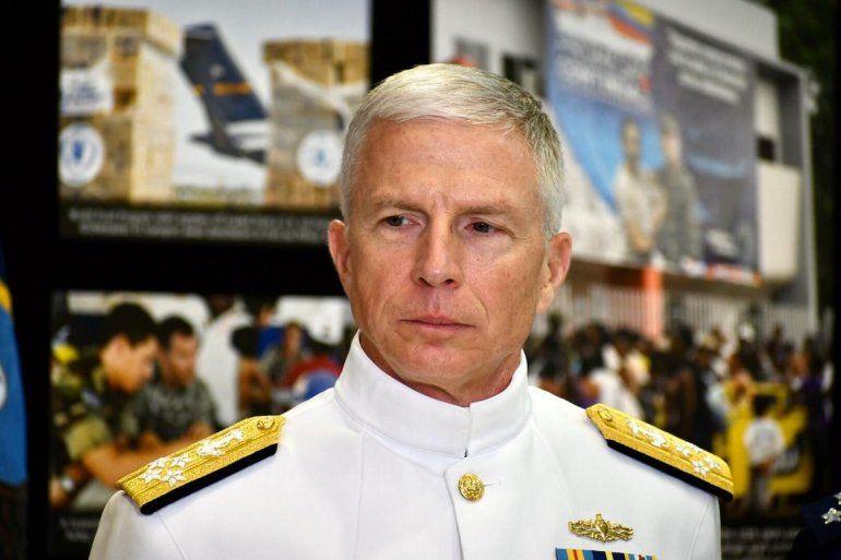 El jefe del Comando Sur