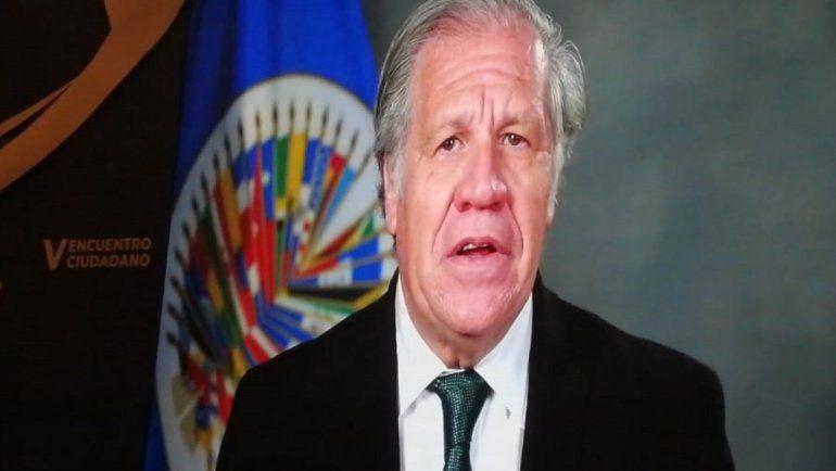 Fotografía del secretario general de la OEA