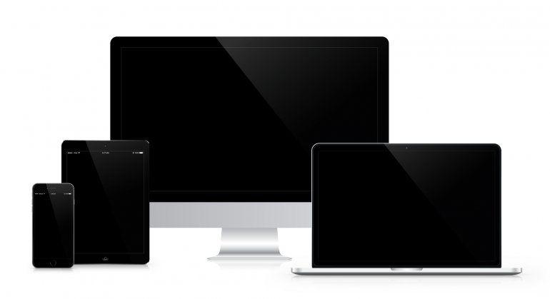 Algunos productos de Apple.
