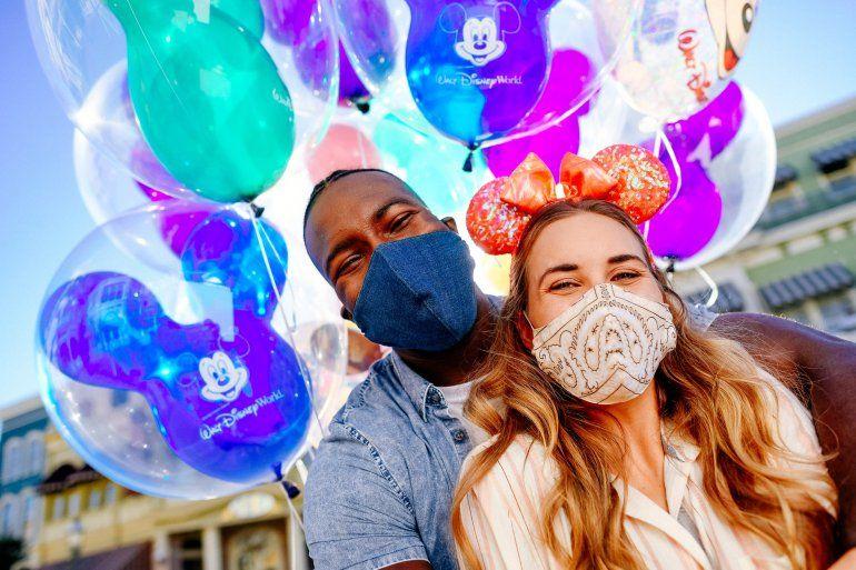 Las máscaras serán un requerimiento para visitar los parques de Walt Disney World.