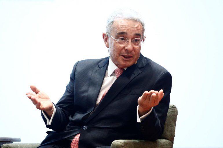 El expresidentecolombiano Álvaro Uribe.