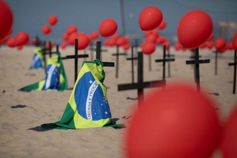 Brasil supera los 4 millones de infectados por COVID-19 | Brasil, COVID-19, muertos
