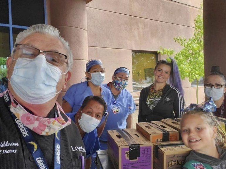 Fotografía sin fecha proporcinada por Girl Scouts of New Mexico Trails de Henrique Valdovinos