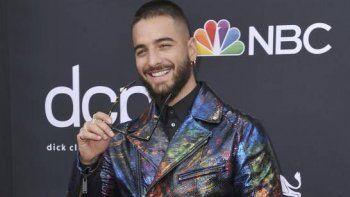 En esta foto del primero de mayo de 2019, Maluma en los premios Billboard de la Música en Las Vegas. La canción Hawái del colombiano figura entre las 10 más populares de la semana.