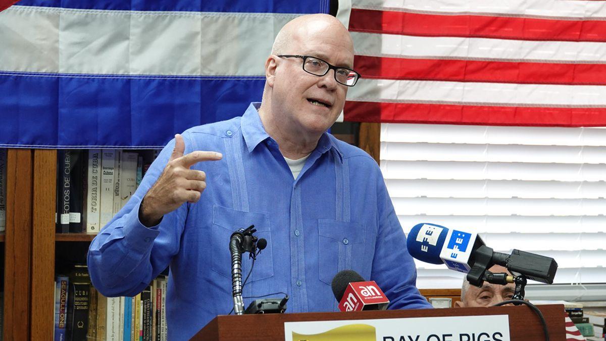 El activista cubano Orlando Gutiérrez-Boronat.
