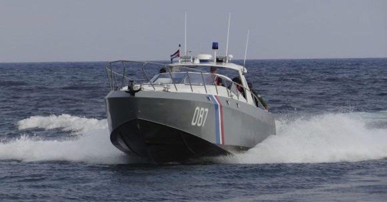 Embarcación de Capitanías de Puerto de Cuba.