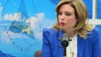 La esposa del expresidente nicaragüense Arnoldo Alemán (1997-2002), la diputada María Fernanda Flores, cuestionó las sanciones de EEUU contra su esposo.