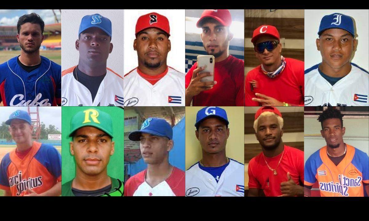 Peloteros cubanos que lograron escapar de las garras del régimen castrista.