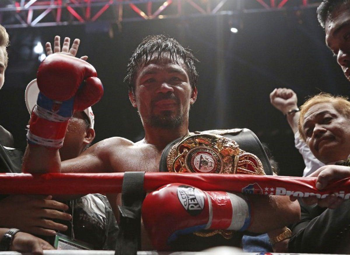 Boxeador Manny Pacquiao rumbo a la presidencia de Filipinas