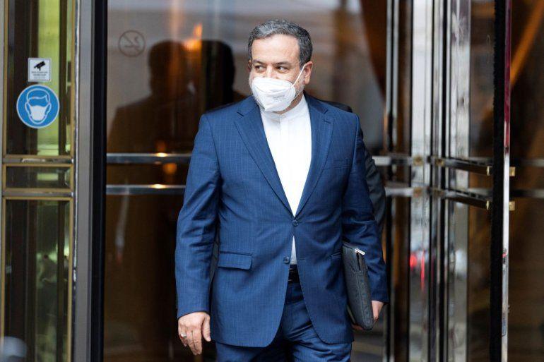 El vicecanciller iraní Abbas Araghchi