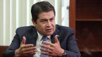 EEUU confirma una investigación contra el presidente de Honduras, Juan Orlando Hernández, por su presunta implicación en una red de narcotráfico