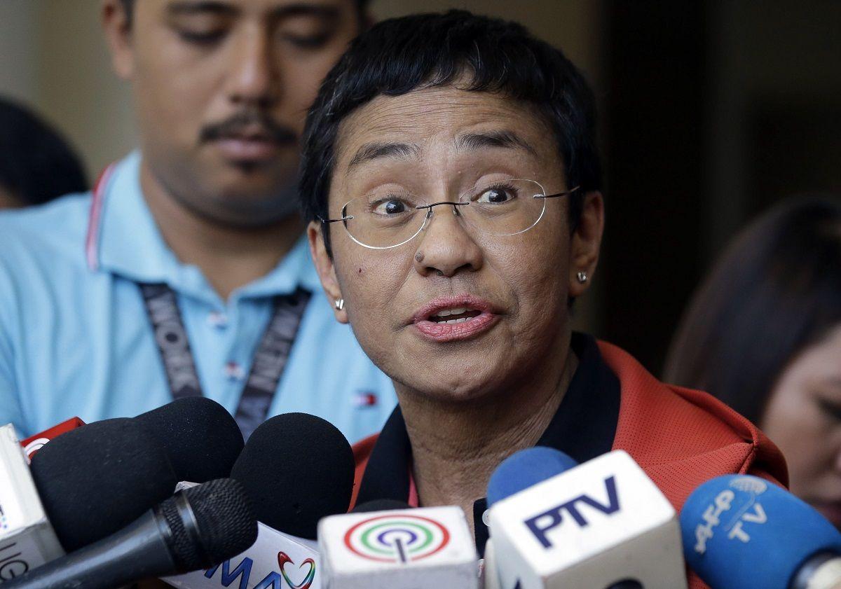 La directora general y editora de Rappler, Maria Ressa, fue merecedora del premio Nobel de la Paz.