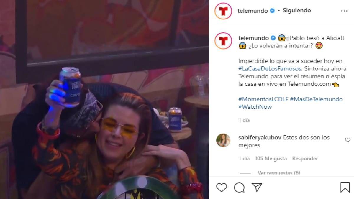 Alicia Machado y Pablo Montero