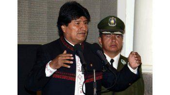 Morales dijo que en su Gobierno no hay ministros autónomos que toman decisiones personales y que cada actuación debe ser evaluada en conjunto por los miembros del gabinete. Foto EFE.