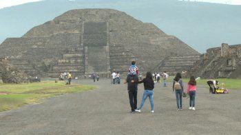 Teotihuacán, la mayor ciudad de la América precolombina, fundada alrededor del año 200 A.C. y abandonada ocho o nueve siglos después, en México.