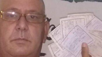 Agustín Figueroa Galindo, líder del Movimiento por la Libertad de Cuba coronel Vicente Méndez, ha sido multado por el régimen comunista de Cuba por protestar por sus derechos.