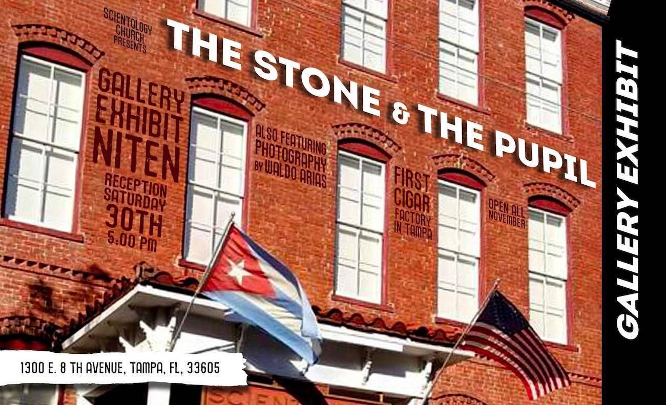 La muestra La piedra y la pupila estará abierta durante todo el mes de noviembre en la iglesia de la Cienciología.