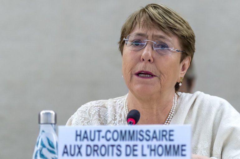 La alta comisionada para los Derechos Humanos de la ONU