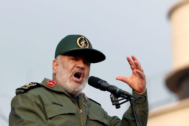 El jefe de la Guardia Revolucionaria de Irán