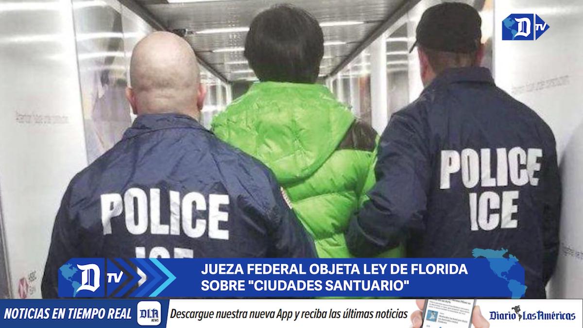 jueza federal objeta ley de florida sobre ciudades santuario