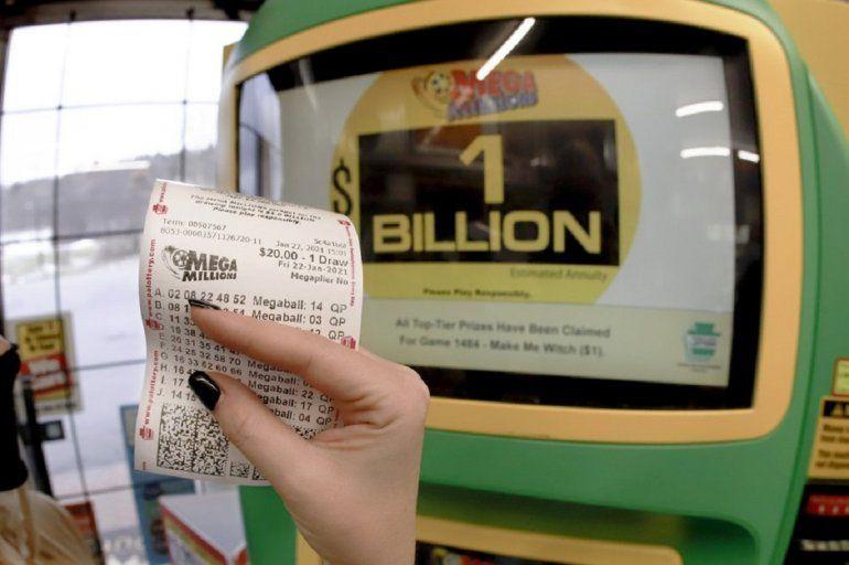 Estos son los números ganadores del Mega Millions