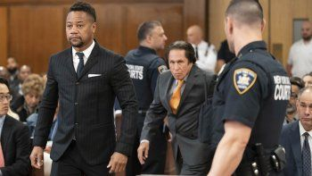 Cuba Gooding Jr. comparece en una corte en Nueva York el jueves 10 de octubre de 2019. El actor está acusado de manosear a una mujer de 29 en un bar en Nueva York el 9 de junio.