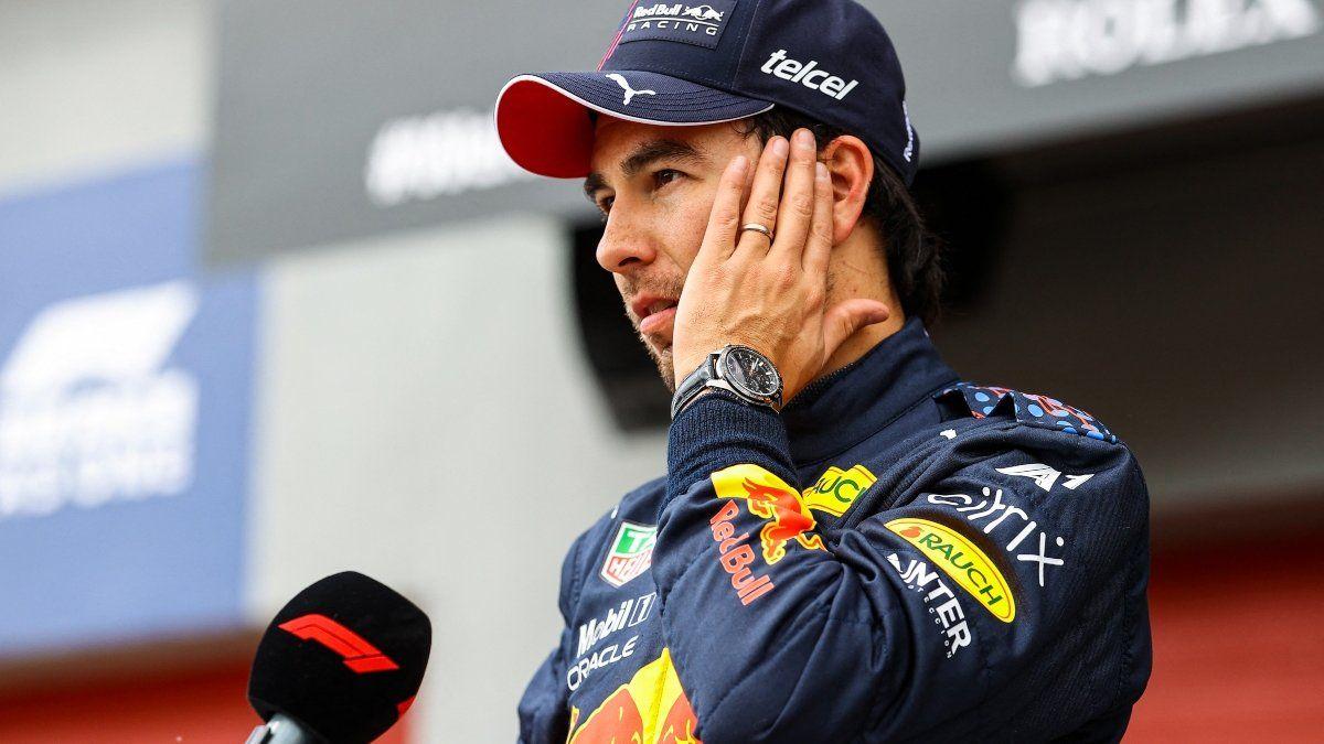 Fórmula 1: En Red Bull están molestos con Sergio Pérez