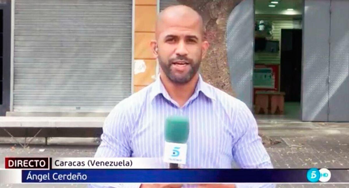 El corresponsal de medios españoles en Venezuela, Ángel Rafael Cerdeño, falleció a los 38 años de edad de forma repentina, según informó Telecinco en la red social Twitter.