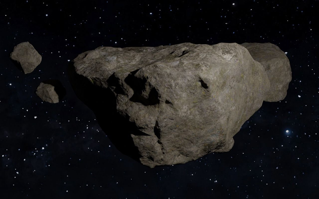Estudian fósiles estelares de meteoritos