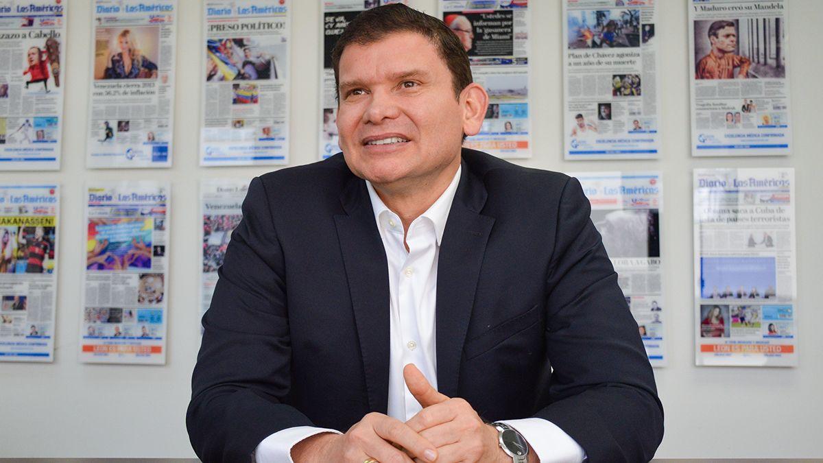 El senador y precandidato presidencial colombiano Jhon Milton Rodríguez.