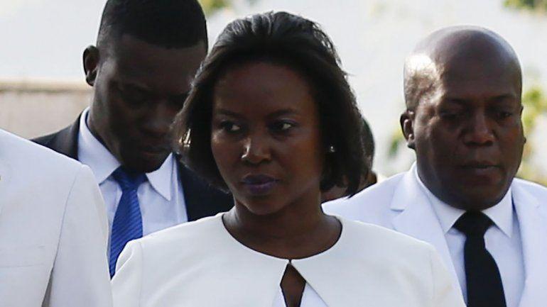 Regresa a Haití viuda de presidente Jovenel Moïse
