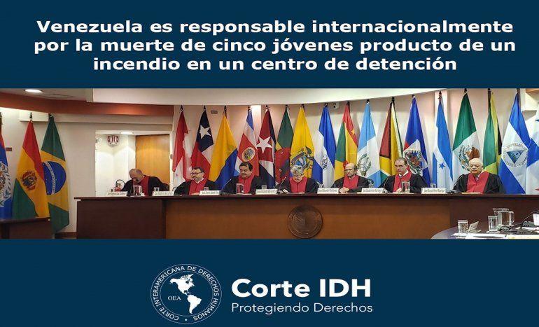 La CorteIDH determinó en el fallo que el régimen de Maduro incurrió en violaciones a los derechos a la vida