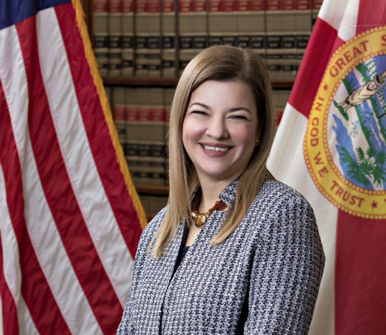 La jueza de circuito estadounidense Barbara Lagoa