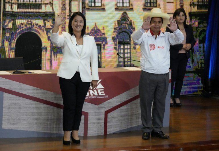 Los candidatos presidenciales peruanos