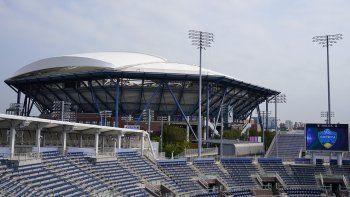 Gradas vacías en el Abierto Western & Southern en el Billie Jean King National Tennis Center, el jueves 27 de agosto de 2020. La pandemia de coronavirus ha obligado a la celebración de los torneos sin público.