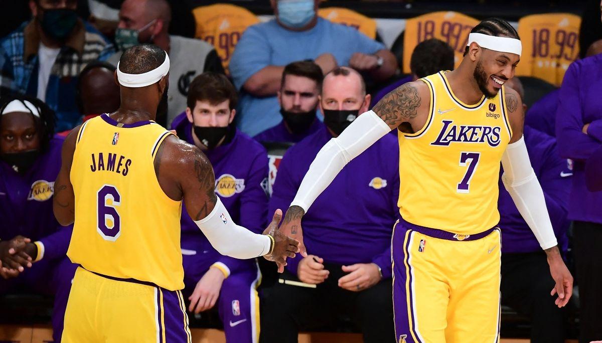 LeBron James y Carmelo Anthony aparecen en el listado de los 76 mejores jugadores de la historia según NBA