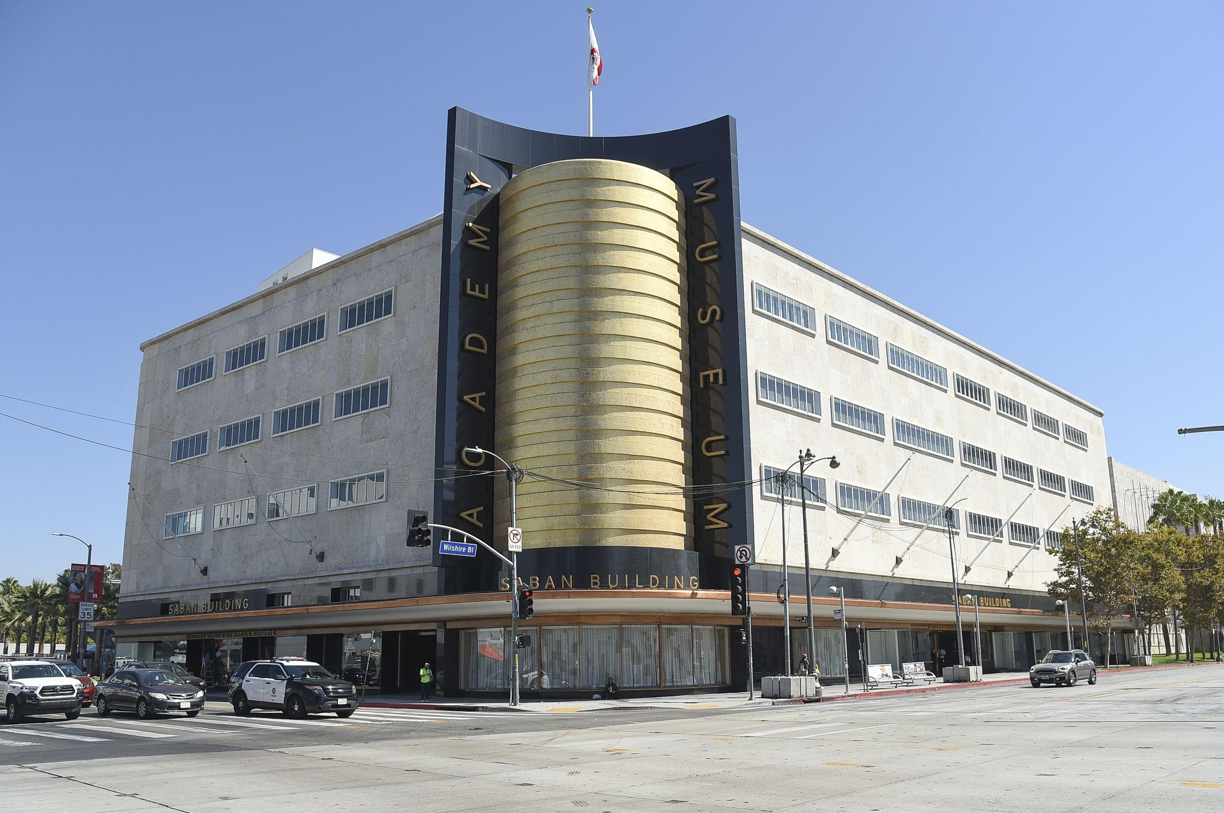 El exterior del Museo de la Academia de Cine (Academy Museum of Motion Pictures) el martes 21 de septiembre de 2021 en Los Angeles. El museo se inaugurará el 30 de septiembre.