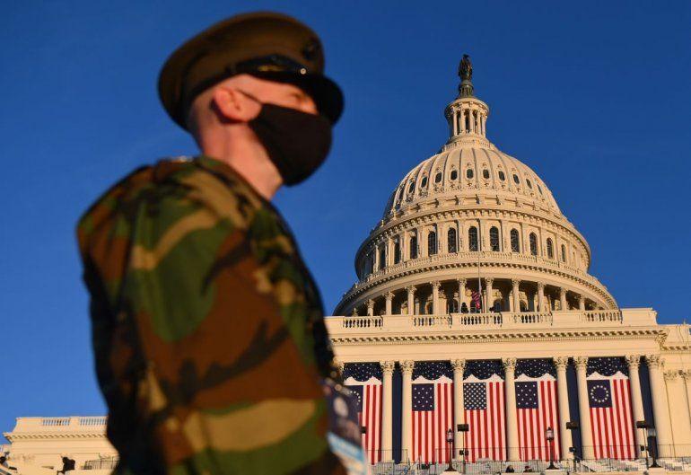Vista del Capitolio en Washington D.C.
