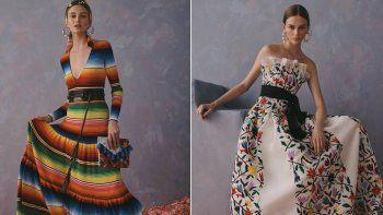 La secretaria deCulturamexicana, Alejandra Frausto, solicitó en una carta dirigida a Carolina Herrera y al director creativo de la firma, Wes Gordon, una explicación por el uso de diseños y bordados de pueblos originarios.