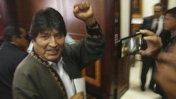 Primero hay que conocer quién es el candidato opositor fuerte. En base a eso hay que elegir, apuntó Morales en una entrevista concedida el 5 de diciembre, antes de dejar suelo mexicano.