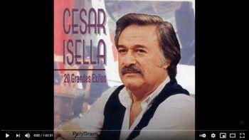 """El músico argentino y compositor folclórico César Isella, autor de """"Canción con todos"""", declarada por la Unesco himno de América Latina, murió a los 82 años de edad."""