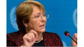 Bachelet aludió a la denuncia que efectuó recientemente el Servicio de Impuestos Internos (SII) ante la Fiscalía Nacional para que se indague la actividad contable de SQM (Sociedad Química y Minera), uno de cuyos principales accionistas es Julio Ponce