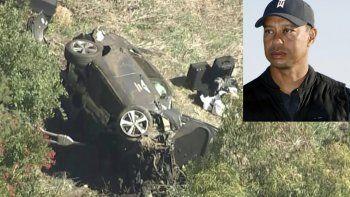 Tras el accidente, Tiger Woods debió ser extraído del vehículo usándose las herramientas hidráulicas de rescate, informó el departamento de policía de Los Ángeles.
