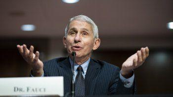 Doctor AnthonyFauci, asesor médico de la Casa Blanca.
