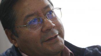 Luis Arce, candidato presidencial del Movimiento al Socialismo (MAS), ofrece una entrevista en su sede de campaña en La Paz, Bolivia, el martes 20 de octubre de 2020.