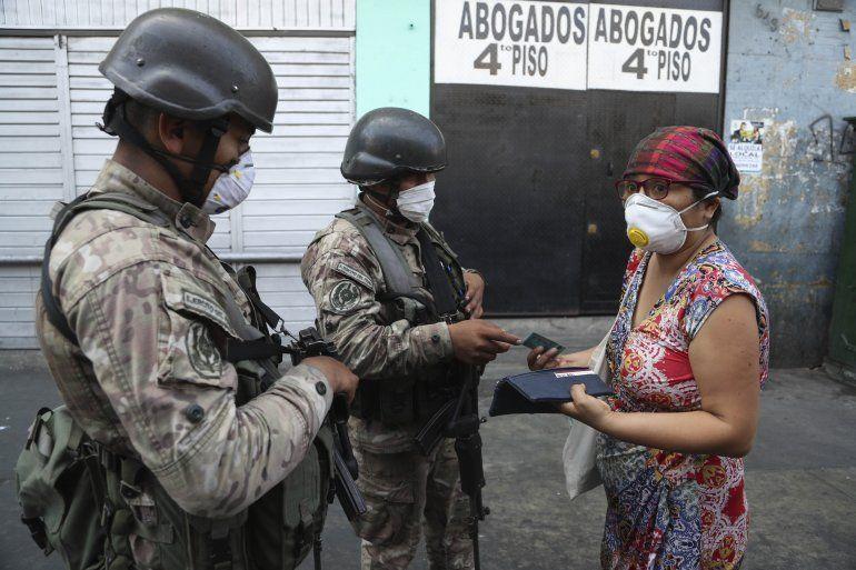 Peru Sugiere Toque De Queda Por Lo Que Resta Del 2020