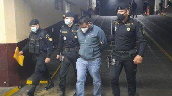 Las autoridades de Guatemala informó sobre la captura de Mario Alfredo Hurtarte Ramírez alias Cantinflas con fines de extradición a Estados Unidos por narcotráfico.