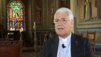 Monseñor Alberto Lorenzelli, sacerdote de la orden de los salesianos, enviado por el papa Francisco a Santiago de Chile como obispo auxiliar en julio de 2019.