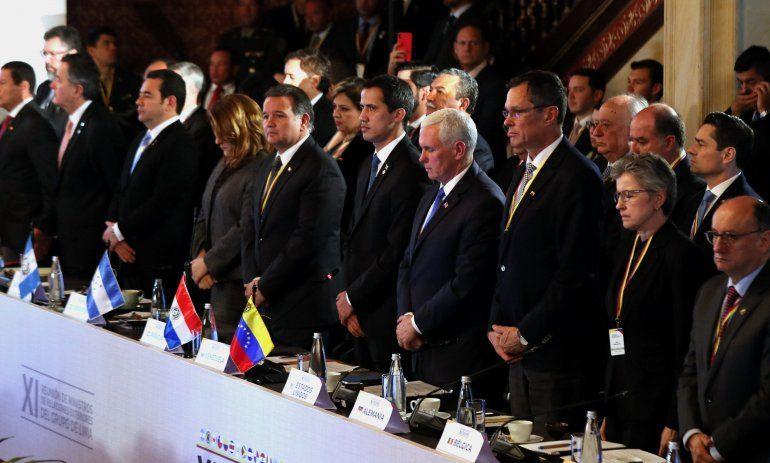El mandatario interino de Venezuela