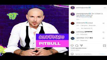 Premios Juventud confirmó la participación de más artistas como Gloria Trevi, Chencho Corleone, Pitbull y muchos más para la ceremonia del 22 de julio de 2021.